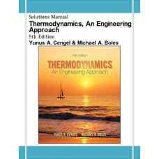 حل المسائل ترمودینامیک، رویکردی مهندسی (سنجل و بولز) (ویرایش پنجم 2005)