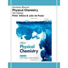 حل المسائل شیمی فیزیک (اتکینز و دی پالما) (ویرایش نهم 2009)