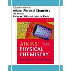 حل المسائل شیمی فیزیک (اتکینز و دی پالما) (ویرایش هفتم 2001)