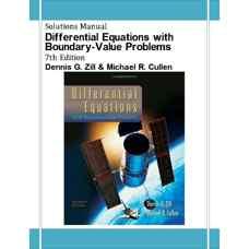 حل المسائل معادلات دیفرانسیل و مسائل مقدار مرزی (زیل و کالن) (ویرایش هفتم 2008)