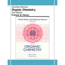 حل المسائل شیمی آلی (کری) (ویرایش پنجم 2002)