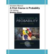 حل المسائل مقدمه ای بر احتمال (راس) (ویرایش هفتم 2005)