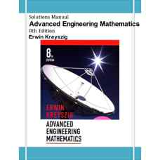 حل المسائل ریاضیات مهندسی پیشرفته (کریزیگ) (ویرایش هشتم 1998)