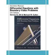 حل المسائل معادلات دیفرانسیل و مسائل مقدار مرزی (زیل و کالن) (ویرایش پنجم 2000)