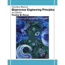 حل المسائل اصول مهندسی فرآیندهای زیستی (دوران) (ویرایش اول 1995)