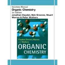 حل المسائل شیمی آلی (کلایدن، گریوز، وارن و وادرز) (ویرایش اول 2001)