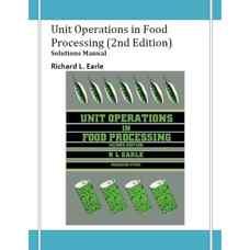 حلالمسائل عملیات واحد در فرآوری مواد غذائی (ارل) (ویرایش دوم 1983)