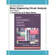 حل المسائل تحلیل پایه مهندسی مدار (ایروین و نلمز) (ویرایش هشتم 2004)