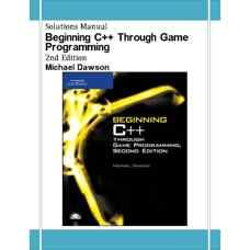 حل المسائل شروع ++C از طریق برنامه نویسی بازی ها (داوسون) (ویرایش دوم 2006)