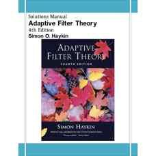 حل المسائل نظریه فیلترهای تطبیقی (هیکین) (ویرایش چهارم 2001)