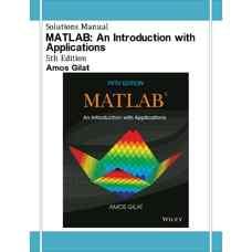 حل المسائل معرفی و کاربرد زبان برنامه نویسی متلب (MATLAB) (گیلات) (ویرایش پنجم 2014)