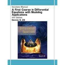 حل المسائل مقدمه ای بر معادلات دیفرانسیل همراه با کاربردهای مدلسازی (زیل) (ویرایش نهم 2008)