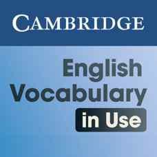 مجموعه آموزش لغات زبان انگلیسی Cambridge Vocabulary in Use