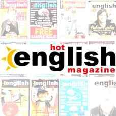 مجموعه مجلات آموزشی زبان انگلیسی Hot English Magazine