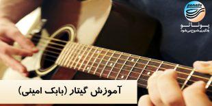 آموزش گیتار بابک امینی - دانشگاه پوناتو